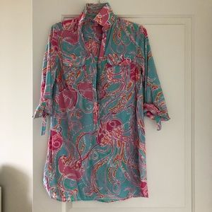 Lilly Pulitzer beach coverup
